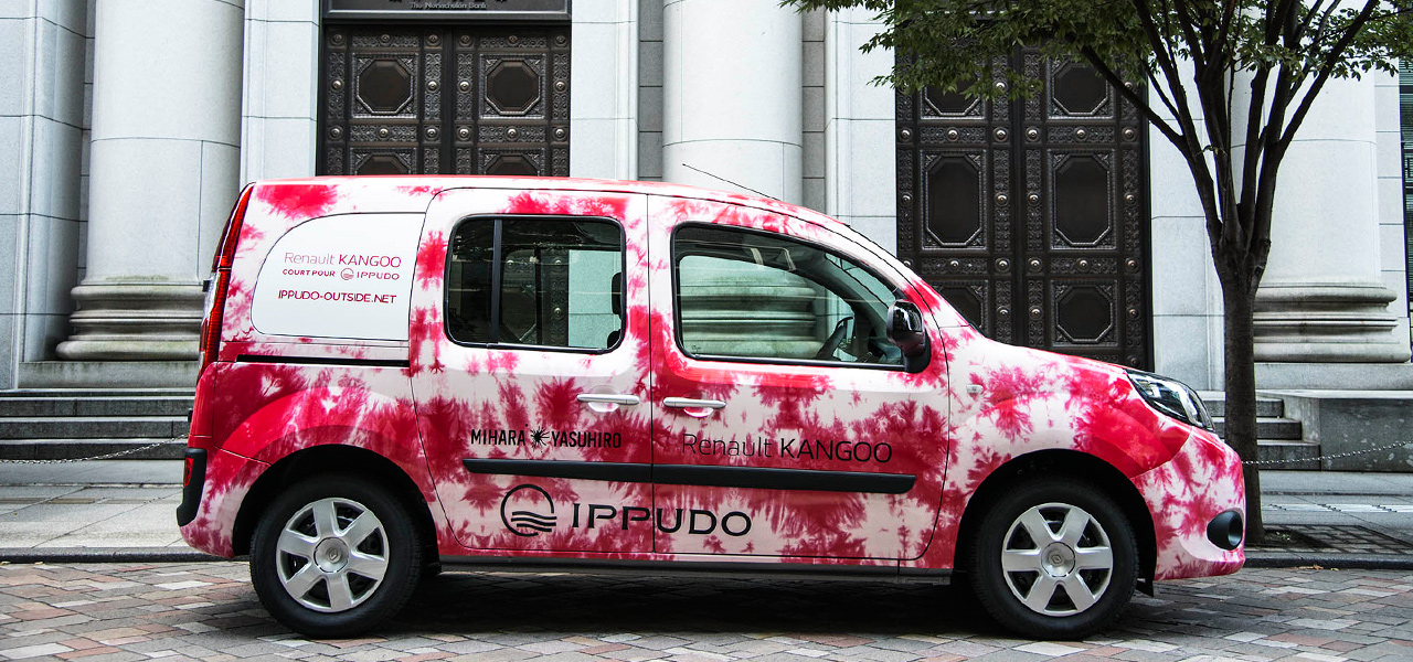 一風堂 IPPUDO RENAULT KANGOO for IPPUDO PARIS