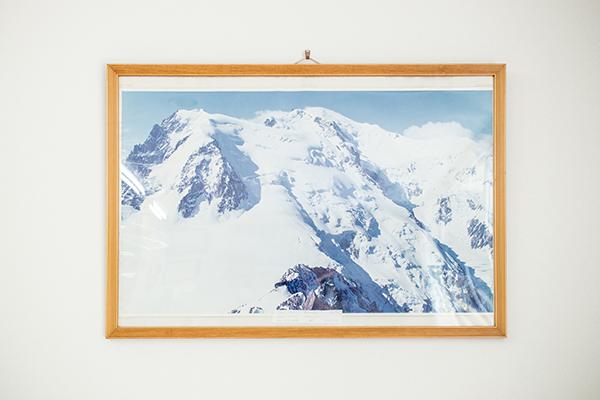 一風堂 アルプス山脈の最高峰・モンブラン