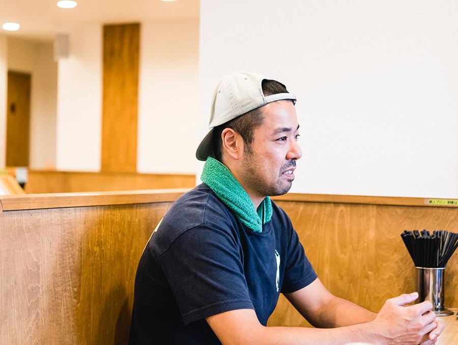 終始穏やかに話してくれた「イロドリ」店主の木村さん 一風堂