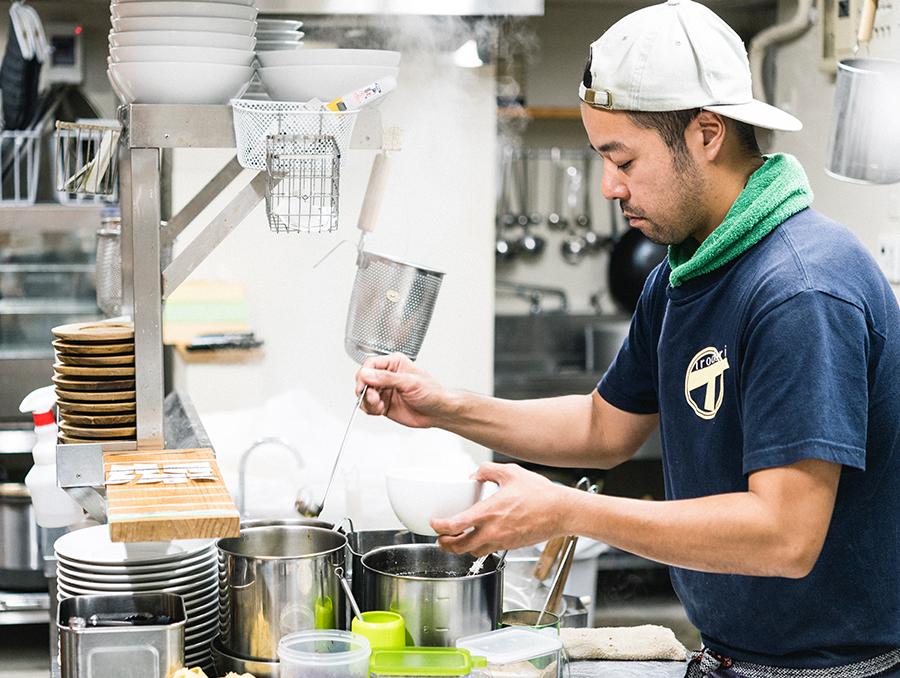 「ラーメン イロドリ」木村さん 一風堂