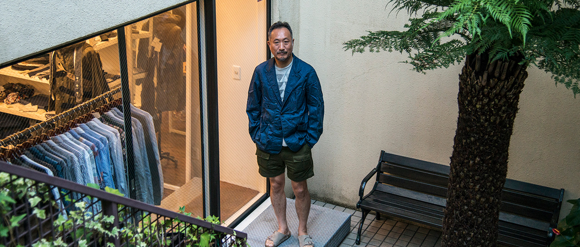 ENGINEERED GARMENTS × IPPUDO 01